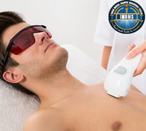 Laser hair removal for full body treatment