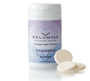Relumins Advance White Collagen Max Formula Chewable Tablets