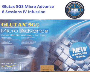 Glutax 5gs Micro Advance Glutathione Injection 6 sessions