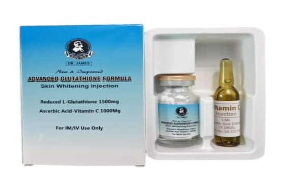 Buy Dr James Glutathione 1500mg Injection with Vitamin C