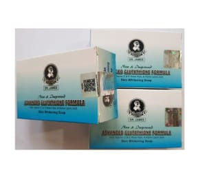 Dr James Advanced Glutathione Skin Whitening Soap