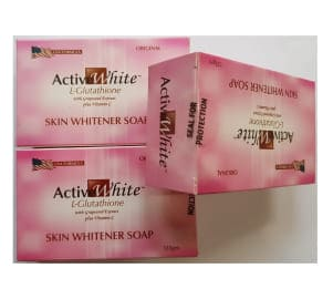 Active White L Glutathione Skin Whitener Soap