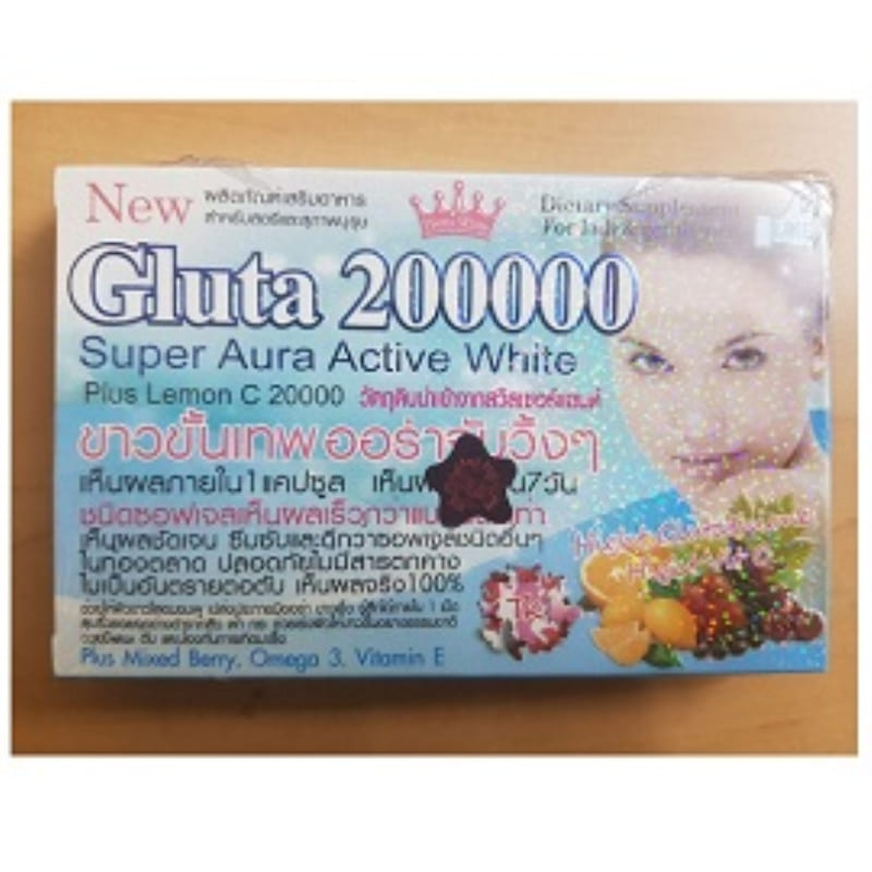 Gluta 200000 Super Aura Active White