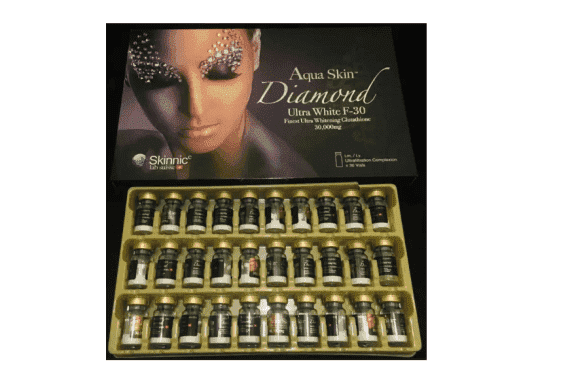 Aqua Skin Diamond Ultra White F 30 Sessions Skin Whitening Injection