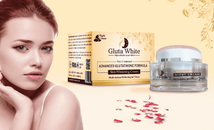 Skin whitening lightening brightening all things with Glutathione Cream
