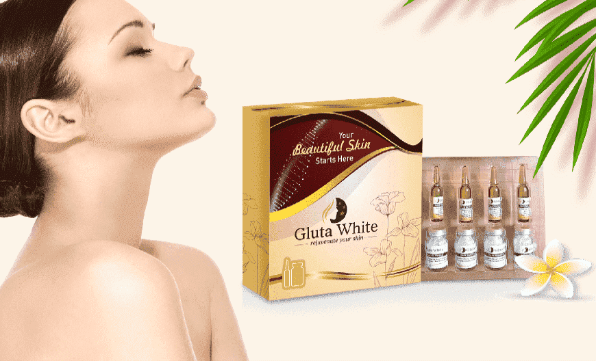 Skin treatment with Glutathione injection