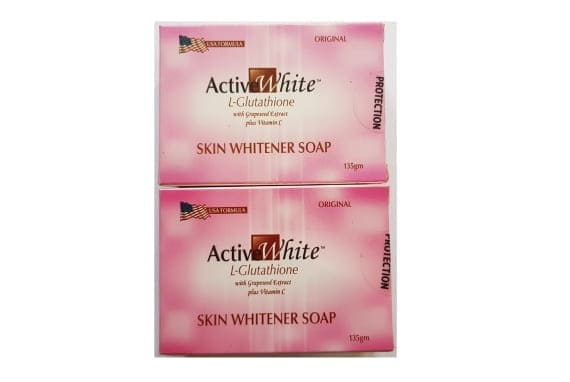Active White skin whitening soap