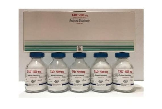 Tad 5000 mg Reduced glutathione injection 5 Sessions