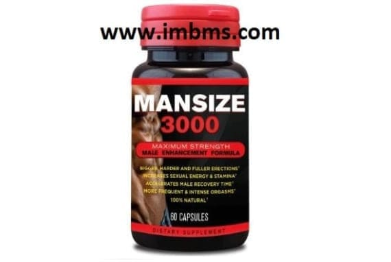 Mansize 3000 extreme male enhancement capsules Pack of 3