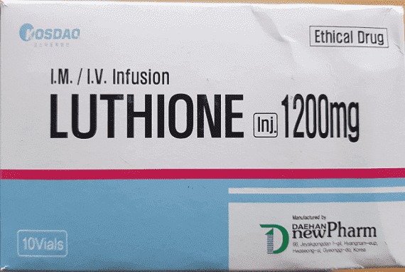 Luthione Glutathione Reduced 1200mg