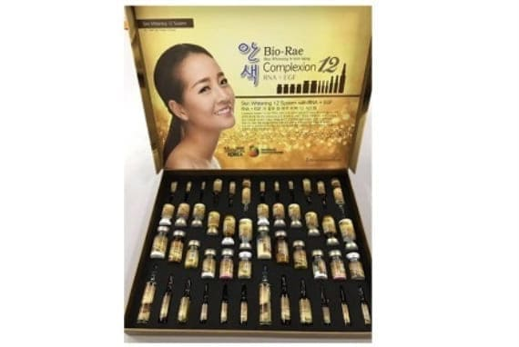 Bio Rae Complexion 12 Skin Whitening Injection 4 Sessions