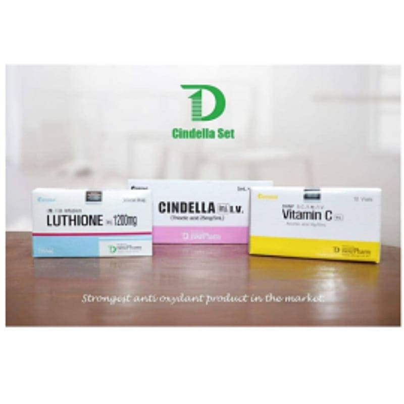 Cindella luthione Skin whitening Injection