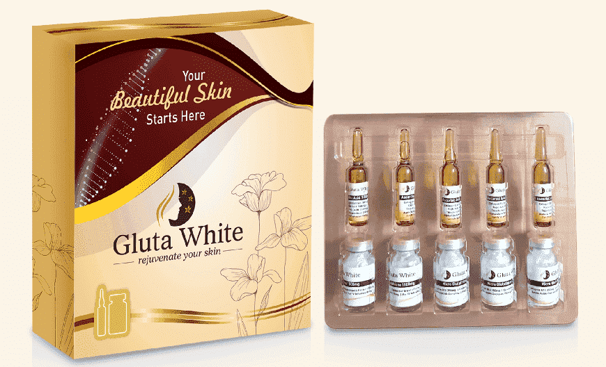 Gluta white Skin Whitening Injection