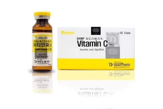 DAE Vitamin C Ascrobic Acid 10g 20ml 10 Sessions Injection