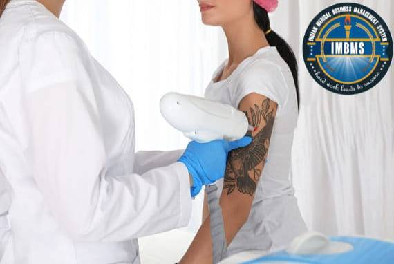 Laser tattoo removal treatment