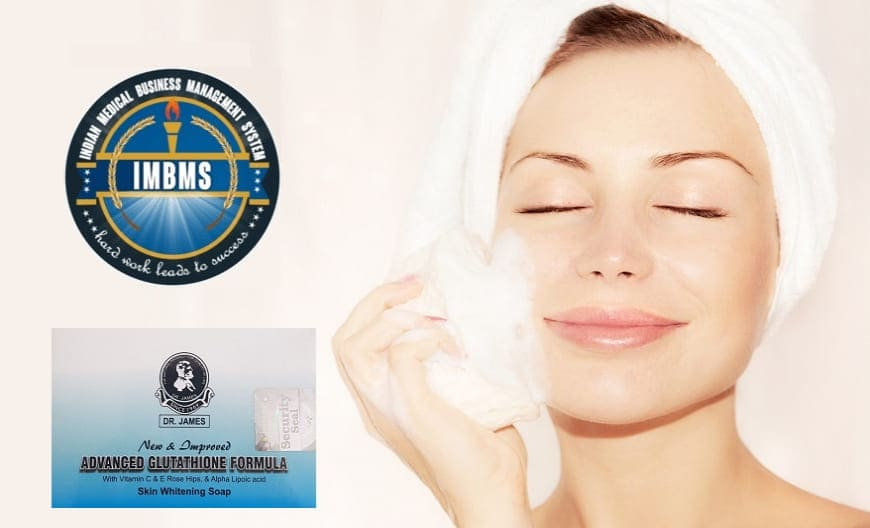 Dr. James Advanced Glutathione Skin Whitening Soap keep Men & Women skin glow in all Seasons