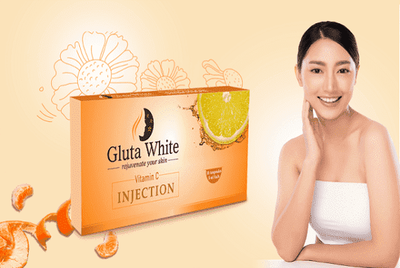 Gluta White Vitamin C 1000mg Injection