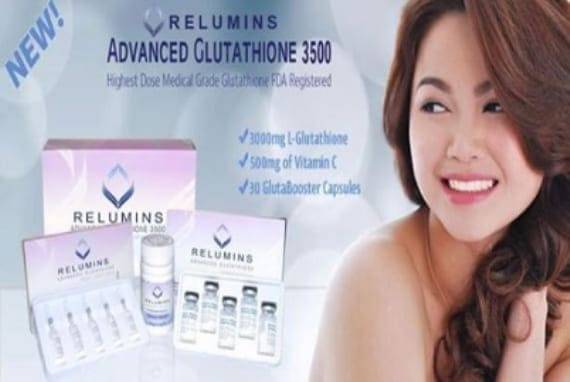 Relumins 3500mg Advance Glutathione 5 Sessions Injection