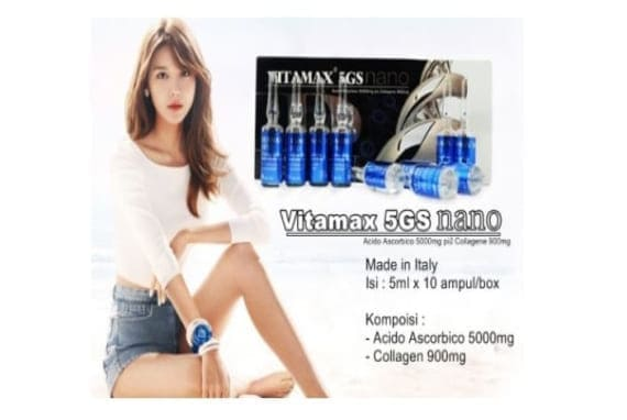 Vitamax 5GS Nano Skin Whitening Injection