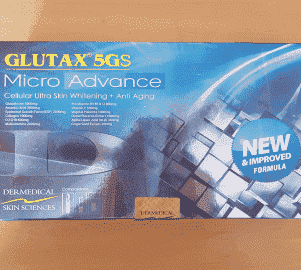 Glutax 5gs Micro Advance Glutathione Injection