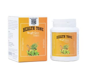 Health Tone Regular Weight Gain 90 Capsules