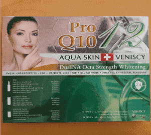 Aqua Skin Veniscy 12 DualNA Octa Strength Skin Whitening 10 Sessions Injection