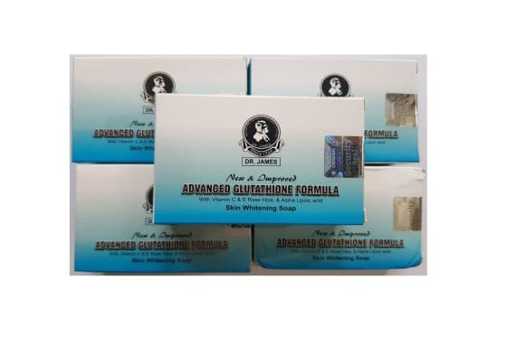 Dr James Advanced Glutathione Skin Whitening Soap Pack of 5