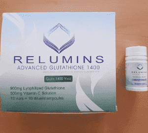 Relumins 1400mg Advance Glutathione 10 Sessions Injection