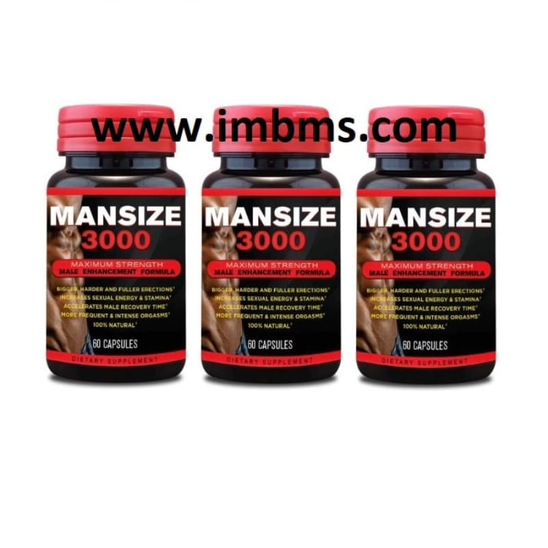 Mansize 3000 extreme male enhancement capsules