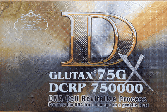 Glutax 75GX DCRP 750000 DNA Cell Revitalize