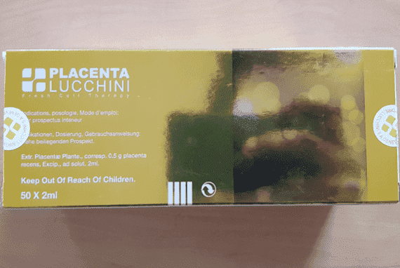 Placenta Lucchini fresh cell therapy injection