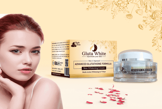 Gluta White Advanced Glutathione Skin Whitening Night Cream
