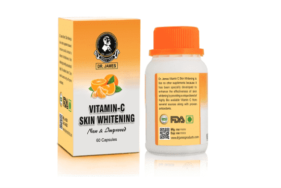 Dr James Advanced Glutathione Skin Whitening Capsules