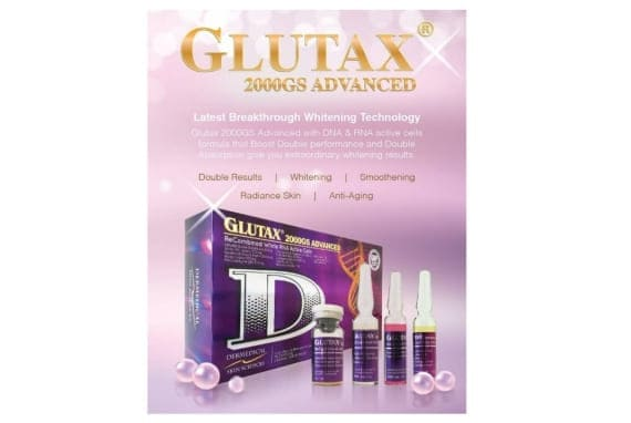 Glutax 2000gs Advanced ReCombined White RNA Active Cells Injection