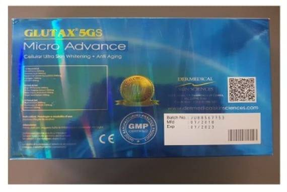 Glutax 5gs Micro Advance Glutathione
