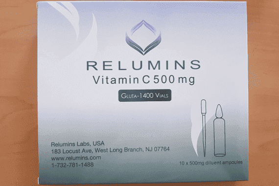 Relumins 1400mg Advance Glutathione