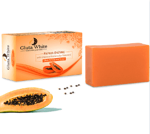 Gluta White Advanced Herbal Papaya Soap