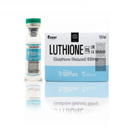 Luthione Glutathione Reduced 600mg 10 Sessions Injection