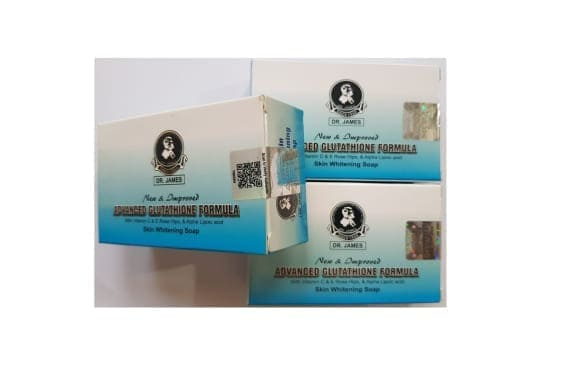 Dr james skin whitening soap