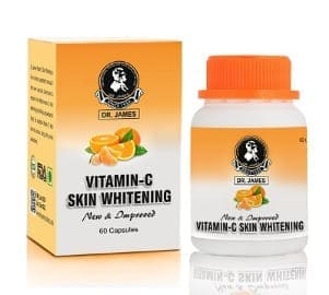 Dr James Advanced Vitamin C Skin Whitening Capsules
