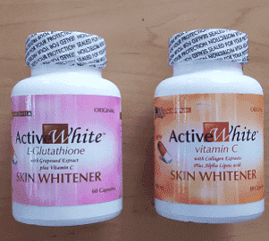 Active White Advanced Glutathione and Vitamin C Skin Whitening Capsules