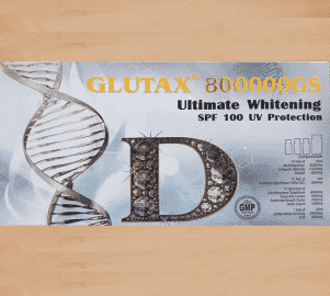 Glutax 800000GS Ultimate Whitening SPF 100 UV Protection 10 Sessions Injection