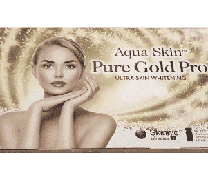 Aqua skin pure gold pro ultra skin whitening injection