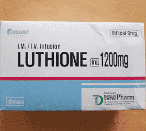 Luthione Glutathione Reduced 1200mg 10 Sessions Injection