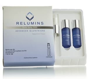 Relumins Gluta Spray 3000mg Oral Glutathione Skin Whitening and Immune Support
