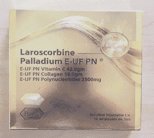 Laroscorbine Palladium E UF PN Vitamin C Collagen Injection